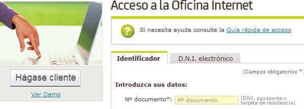 Bankia internet