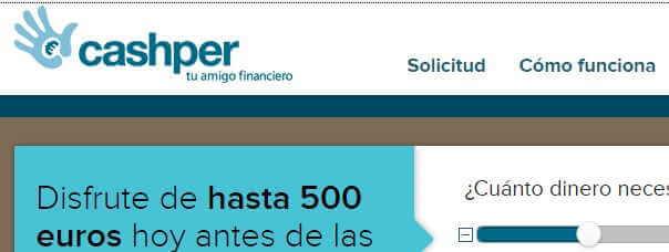 créditos rápidos cashper