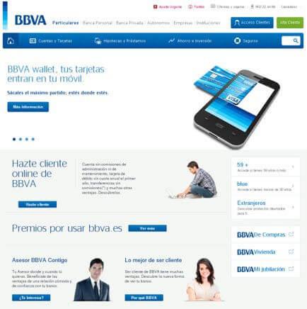 contratar cuenta online bbva
