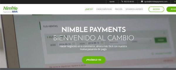 nimble payments BBVA