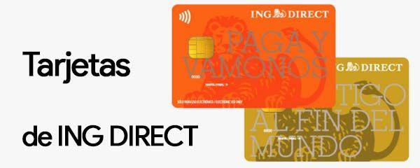 tarjetas ing direct