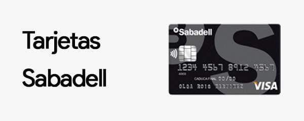 Tarjetas Sabadell
