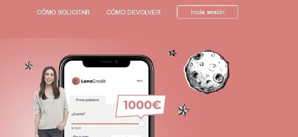 LunaCredit Préstamos de 1.000 euros